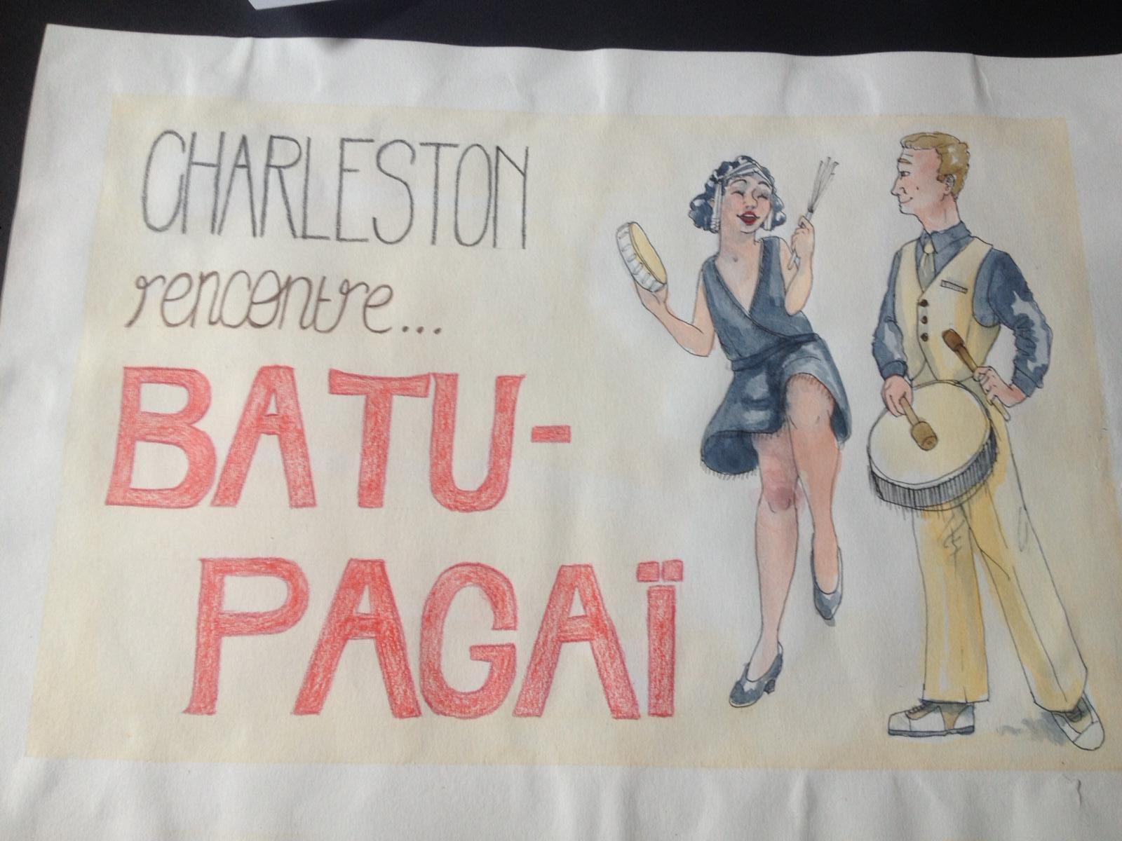 projet de classe: costume de scène pour une troupe de Batucada avec les 1ère DTMS